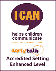 Early Talk enhanced accreditation logo